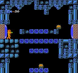 Screenshot of Original Metroid